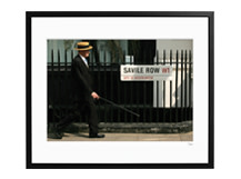Savile Row, London, 50 x 40cm, Limited Edition
