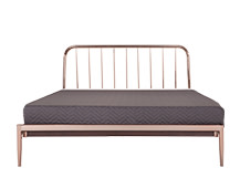 Alana Kingsize Bed, Copper