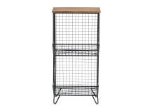 Amph Shelving Unit, Black