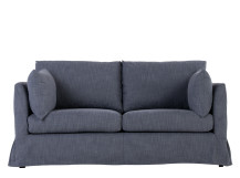 Antibes Loose Cover 2 Seater Sofa, Denim