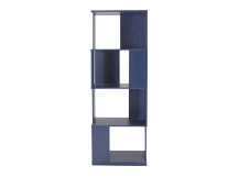 Axis Shelving Unit, Indigo Blue