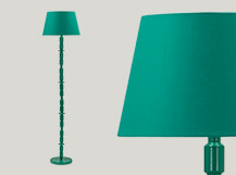 Bailey Floor Lamp, Green