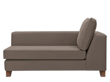 Belfort Left Hand Facing Chaise, Pisa Grey