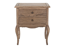 Belvoir Bedside Table, Natural Ash