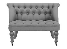 Bouji Love Seat, Graphite Grey
