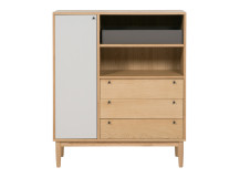 Campton Highboard, Oak