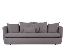 Demi 3 Seater Sofa, Lunar Grey