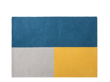 Elkan Tufted Rug 160 x 230cm, Block Blue