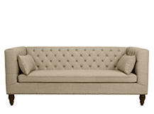 Flynn 3 Seater Sofa, Biscuit Beige