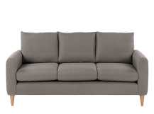 Gaia 3 Seater Sofa, Dove Grey