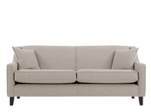 Halston 3 Seater Sofa, Pebble Weave