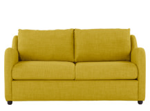 Hamlyn 2 Seater Sofa Bed, Sulphur Yellow