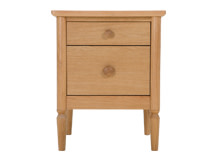 Hansel Bedside Table, Oak
