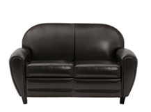 Jazz Club 2 Seater Sofa, Chocolate