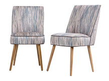 2 x Jersey Dining Chairs, Hazy Shades