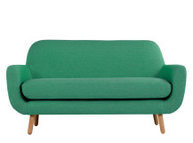 Jonah 2 Seater Sofa, Spearmint Green