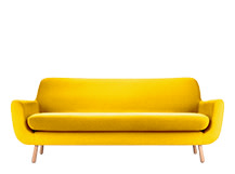 Jonah 3 Seater Sofa, Dandelion Yellow