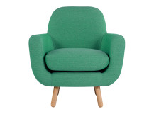 Jonah Armchair, Spearmint Green