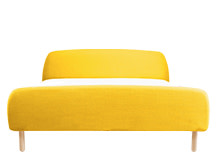 Jonah Kingsize Bed With Footboard, Dandelion Yellow