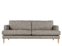Kotka 3 Seater Sofa, Vintage Coal Cotton Mix