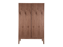 Lansdowne Wardrobe, Natural Walnut