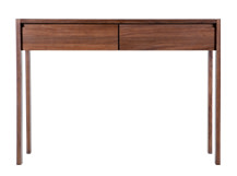 Ledger Dressing Table, Dark Elm