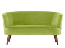 Lulu 2 Seater Sofa, Flanders Green