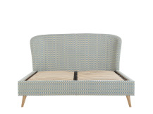 Lulu Double Bed, Honeycomb Weave
