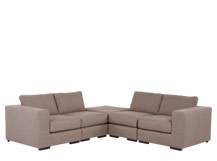 Mortimer Modular Corner Sofa Group, Shadow Mocha