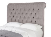 Orkney Double Headboard, Owl Grey