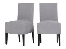 2 x Parson Dining Chair, Quarry Grey