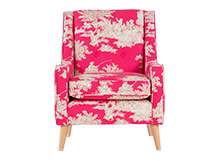 Pennelopi Chair, Etienne Pink