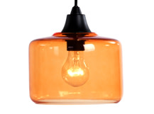 Petra Pendant Shade, Sunny Orange