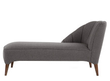 Pimlico Left Hand Facing Chaise, Suiting Grey