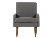Profile Chair, Slate Linen