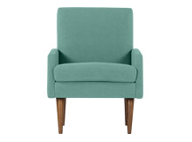 Profile Chair, Topaz Linen
