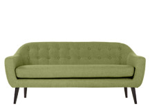 Ritchie 3 Seater Sofa, Lime Green