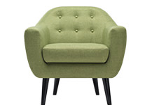 Ritchie Armchair, Lime Green