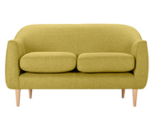 Tubby 2 Seater Sofa, Citrus Green