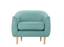 Tubby Armchair, Pacific Blue