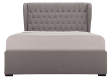 Bergerac Kingsize Bed with Storage, Graphite Grey