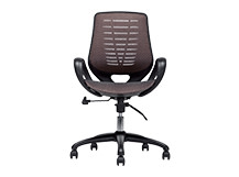 Buro Swivel Office Chair, Bronze