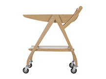 Fonteyn Drinks Trolley, Oak and Walnut