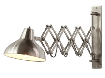 Frosini Wall Light, Brushed Stainless Steel