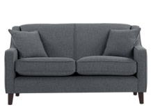 Halston 2 Seater Sofa, Charcoal Weave