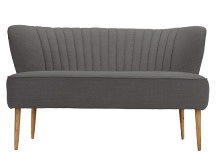 Jersey 2 Seater Sofa, Graphite grey