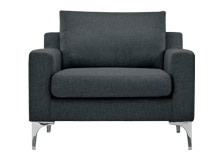 Mendini Armchair, Anthracite Grey