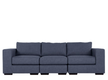 Mortimer 4 Seater Modular Sofa, Shadow Indigo