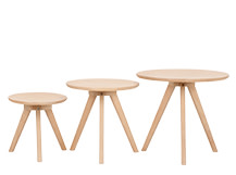 3 x Orion Side Tables, Natural