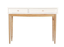 Willow Dressing Table, Oak and White